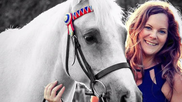 Samantha Watt has been able to combine her love of horses with earning money.