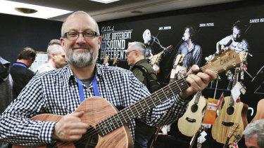 Miles Jackson, chief executive of Cole Clark Guitars.