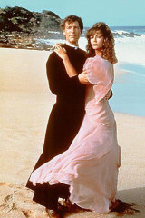 Rachel Ward and Richard Chamberlain in The Thorn Birds.