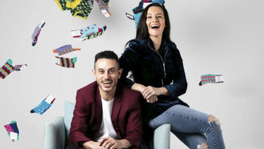 Manrags co-founders  Michael and Tina Elias.