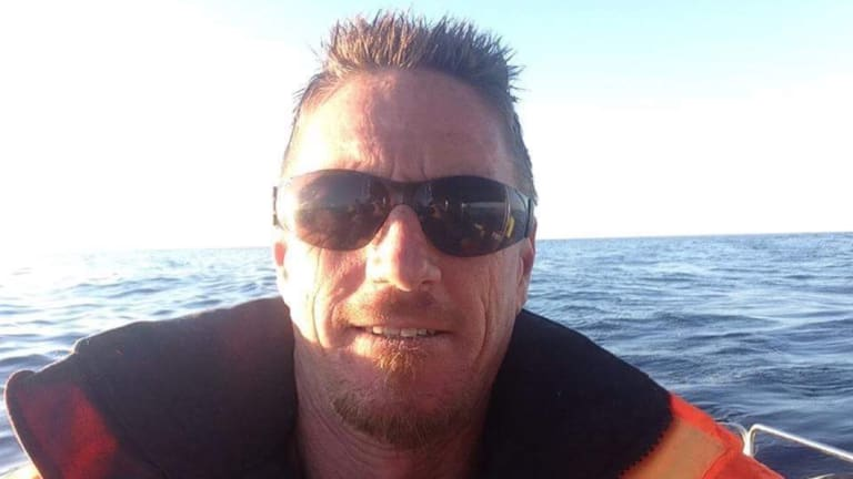 Adrian Hogg, 47, was killed in a motorcycle crash in Bonython on Sunday, May 13.