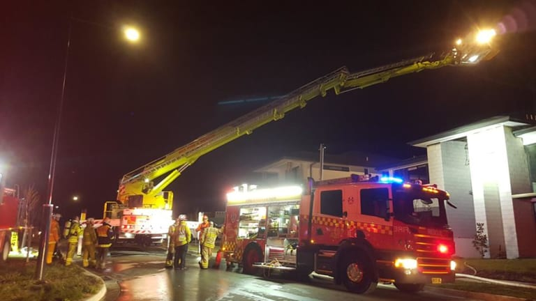 Emergency services were called to a house fire on Christie Street in Googong on the evening of June 2, 2018.