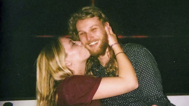 Lucas Fowler and his American partner  who were both found dead by the side of the Alaska Highway.