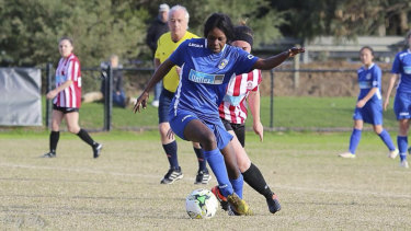 Laa Chol was remembered by her soccer club as a skilled winger.