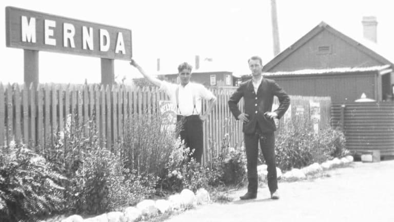 The old Mernda train station