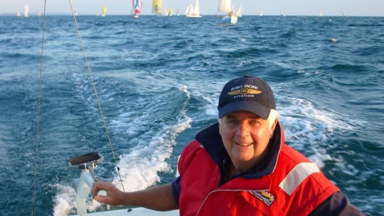 Max Peters, died in a yachting tragedy on Port Phillip Bay on Sunday.