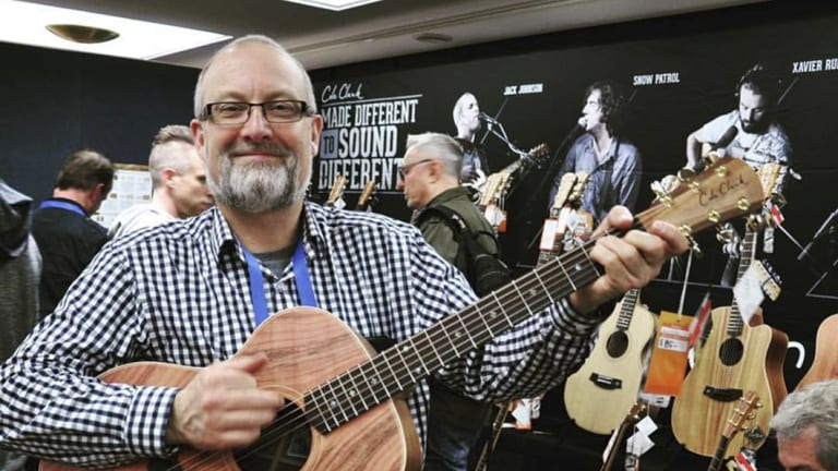 Miles Jackson, chief executive of Cole Clark Guitars.