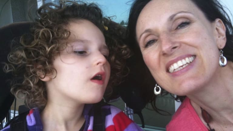 Marina Spence and daughter Mikayla
