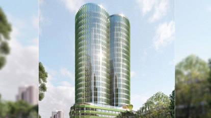 Tower proposed opposite Crown relies on 'stunning' design to leap height limit