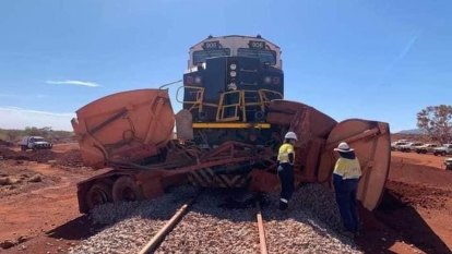 Train hits truck near Fortescue's Eliwana mine in Pilbara