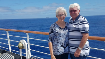 'It sounds wonderful, but it's still a quarantine': WA couple's cruise dream ends on Rottnest