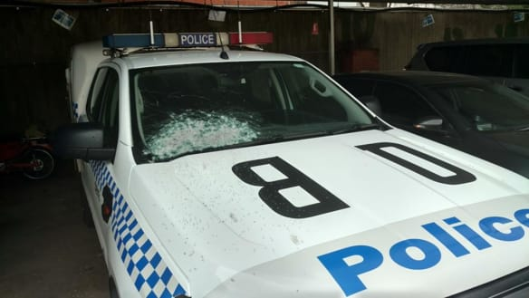 Four vehicles damaged in Queanbeyan shooting, suspect not yet charged