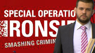 Lawyer Ted Dobson has been caught up in global enforcement operation Ironside.