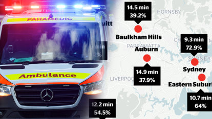 'Difference between whether you're breathing or not': East-west divide in ambulance times