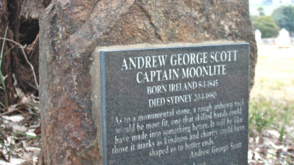 Why bushranger Captain Moonlite died with a lock of hair in his hand