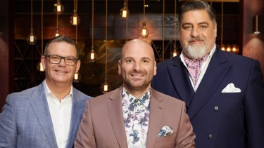 MasterChef judges; Gary Mehigan,George Columbaris and Matt Preston.