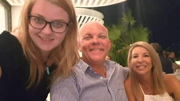 Tiana, Adam and Leanne Davis are pushing for adult adoption to be legalised in Queensland.