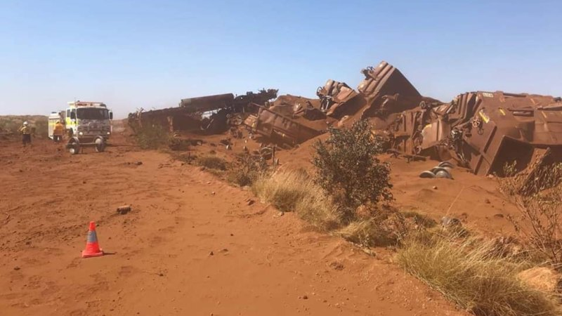 BHP iron ore train services recommence in WA as a second train derails