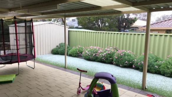 The Perth suburbs hit hardest by wild winter weather