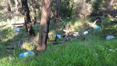 Nine drums of chemical waste were found dumped just off Mount Dandenong Tourist Road.