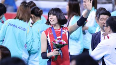 Bullying claims: South Korean volleyball player Lee Jae Yeong.