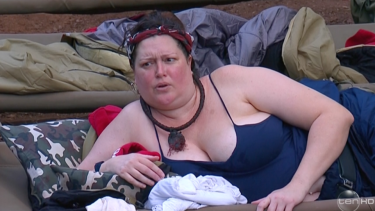 The socialite formerly known as Kate Fischer, Tziporah Malkah  on I'm a Celebrity.