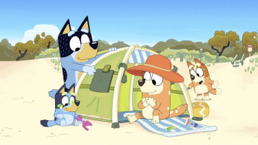 Bluey's dad, Bandit, is a master of playtime in the hit animation series that teaches children and parents alike.