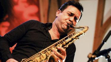 Perth-born saxophonist Brandon Allen.
