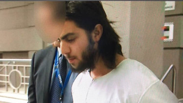 Hanifi Halis, 21, was arrested in Greenvale and charged with terrorism offences.