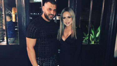 """Razija """"Rosa"""" Adilovic and her partner Gabriel Issa, who police say ran a cocaine delivery empire to the north shore from their Campsie apartment."""