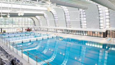 The new Aquatic Centre at Caulfield Grammar School. Source: Facebook CGS
