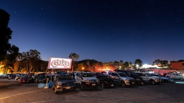 Yatala Drive-In has reopened to movie buffs wanting to enjoy a movie night out safely, while indoor cinemas remained closed.