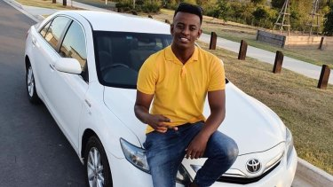 Girum Mekonnen, 19, was fatally stabbed at O'Callaghan Park in Zillmere in Brisbane's north on Sunday evening.