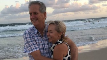 Tim and Julie Hudson died when the rented plane Tim was flying crashed near Moreton Island on January 22.