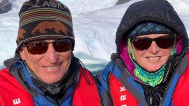 Australian passengers Wayne and Rowena Hamilton were passengers on the Greg Mortimer, stranded off Uruguay.