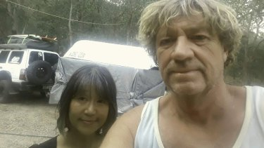 Dave Brereton and his partner Miki are packed up and ready to evacuate at any moment.