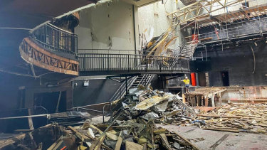 Demolition of the Palace Theatre in Melbourne commenced this week.