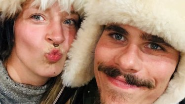 Benjamin Kress, 29, and Nathalie Eich, 26, got married in Kalgoorlie on July 8th.