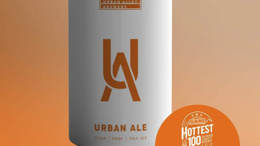 Urban Alley's Urban Ale product. The company registered a trademark for Urban Ale in 2016.