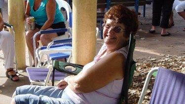 Karla Lake died in Caboolture Hospital, north of Brisbane, on Sunday morning.