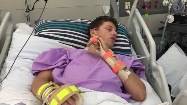 Toowomba Grammar Student Ollie Bierhoff was one of four catastrophic spinal injury cases studies examined by the Queensland review.