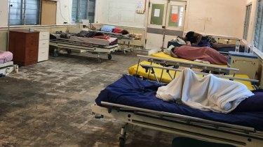 Chronically ill refugees and asylum seekers on Nauru.
