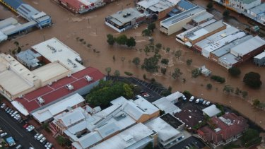 Flooding in the aftermath of Cyclone Debbie in 2017, which Moody's said caused a temporary rise in mortgage arrears.