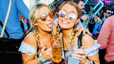 Beer, pretzels, German food, music, what more do you need in an Oktoberfest celebration?