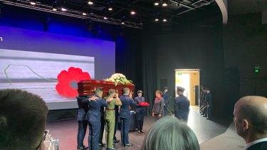 James Fernandez de Viana's funeral was held in Mandurah on Friday last week.