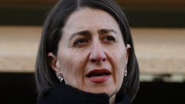 NSW Premier Gladys Berejiklian is presiding over a pokies land grab.