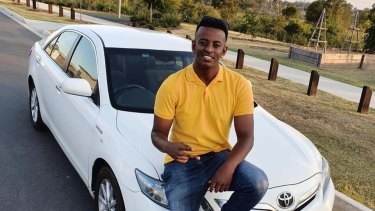 Girum Mekonnen, 19, died in O'Callaghan Park in Zillmere in Brisbane's north on Sunday evening.