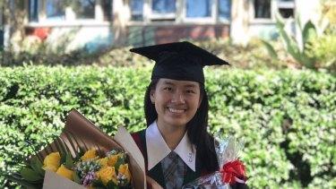 Julina Lim, from Cabramatta High School, got an ATAR of 99.95.