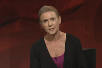 Lionel Shriver did not back down from her previous comments on Q&A.