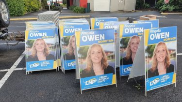 Angela Owen will run in the federal election.